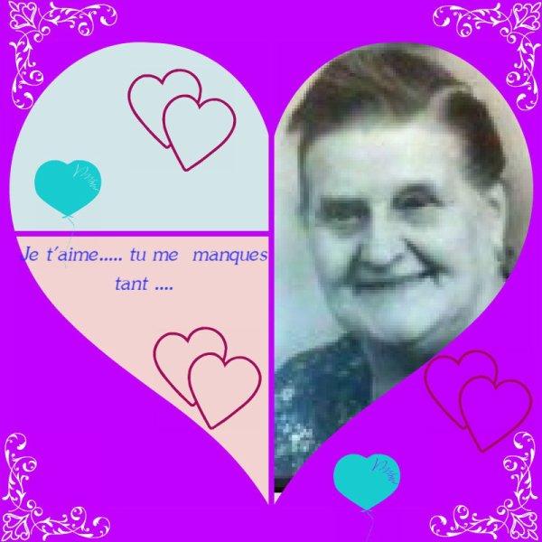 Hommage à ma Grand-Mère une Sainte Femme.....