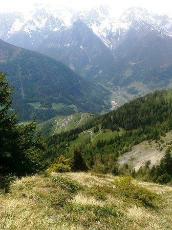 au tour VTT au Valais