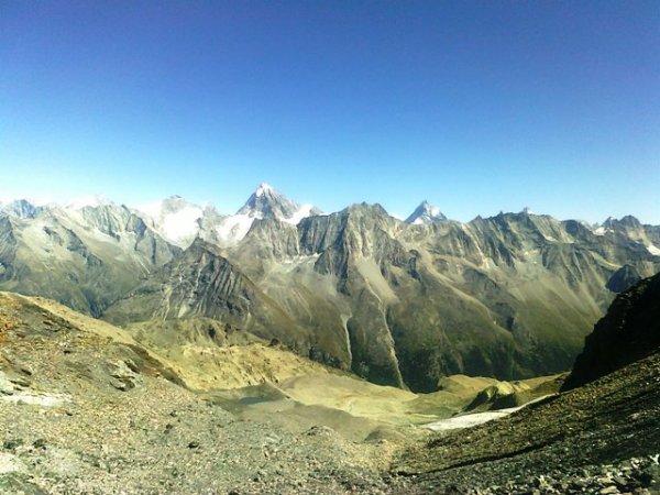 au Glacier de Vouasson (VS)
