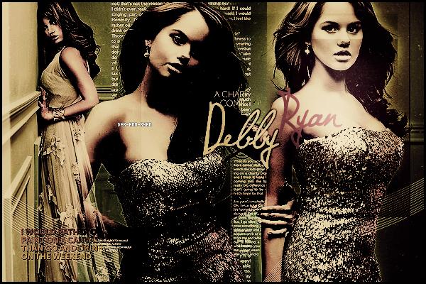 .Bienvenu sur Deb-Ann-Ryan, ta nouvelle source sur l'actrice de 18 ans Debby Ryan ! .