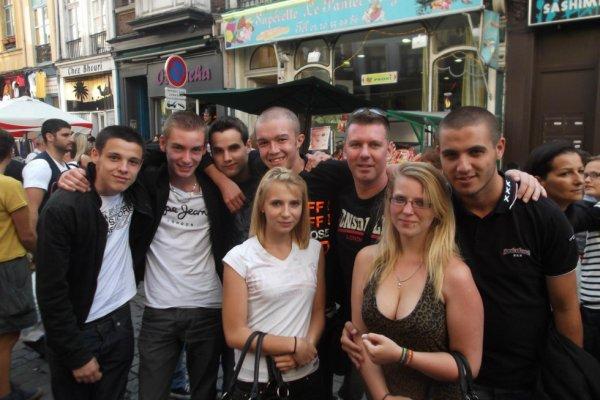 lors de la Braderie de Lille 2012