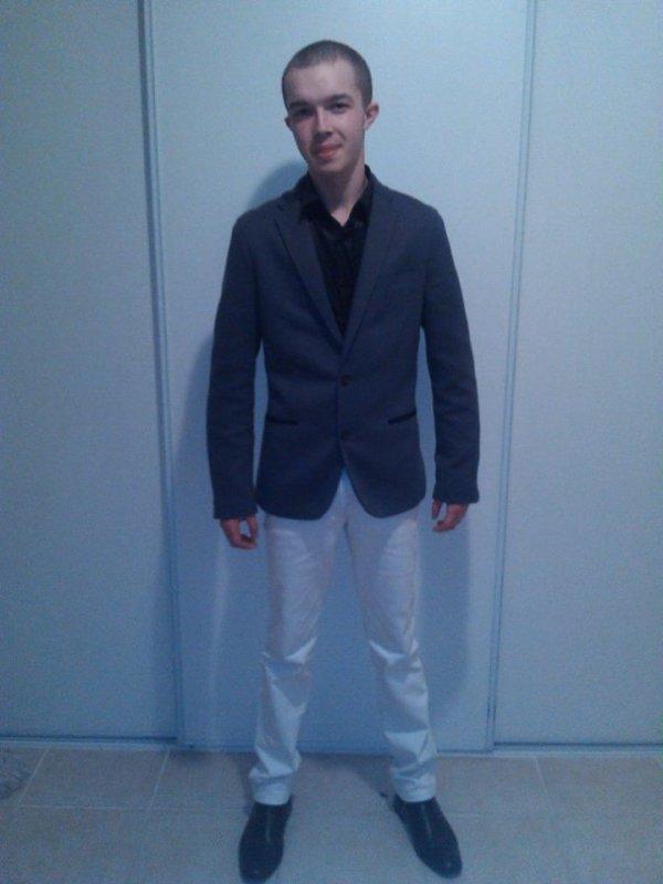 Juste moi en mode habiller pour faire la fête ^^
