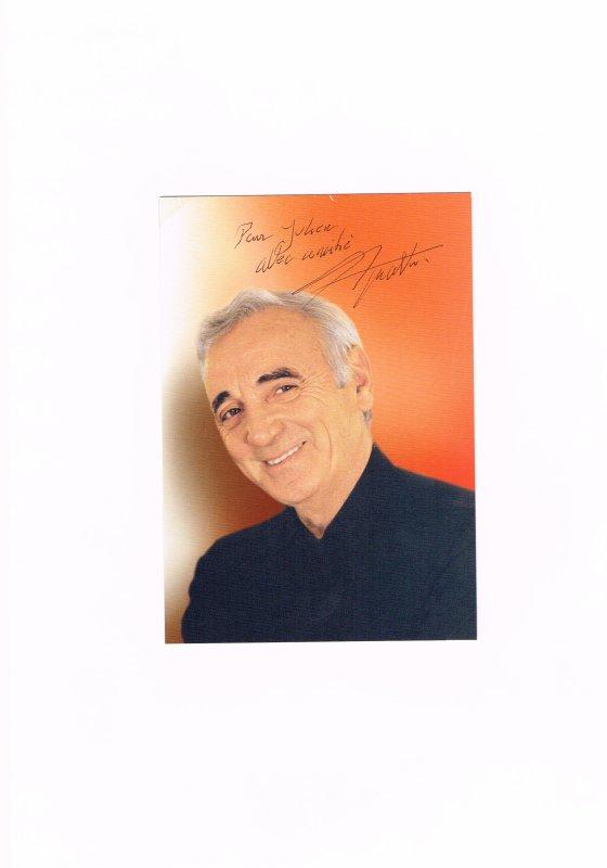 60. Charles AZNAVOUR