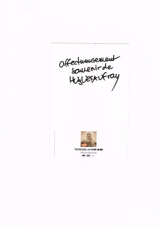 138. Hugues AUFRAY