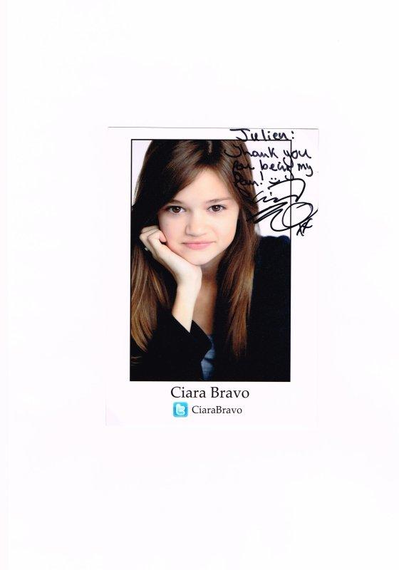 210. Ciara BRAVO