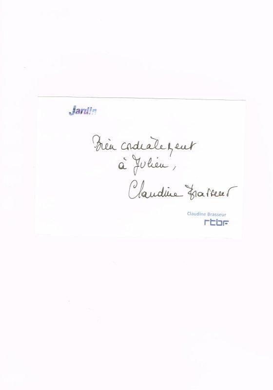 255. Claudine BRASSEUR