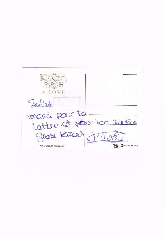 266. Kenza FARAH