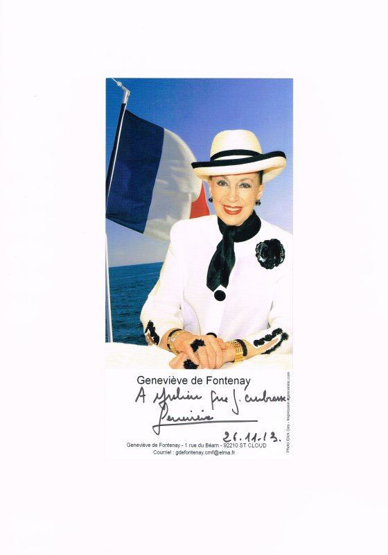295. Geneviève DE FONTENAY