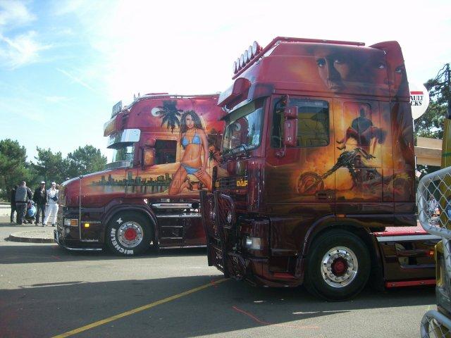 Les camions décorés !!!