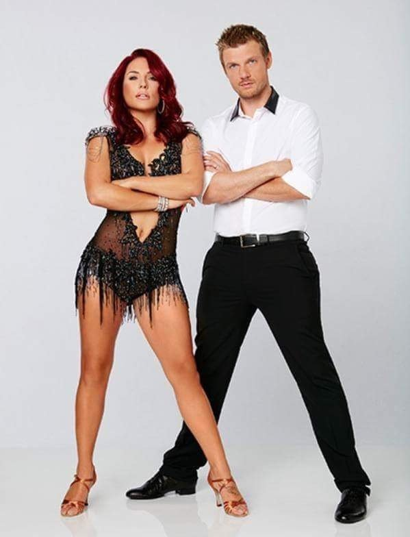 Nick carter in dancing with stars