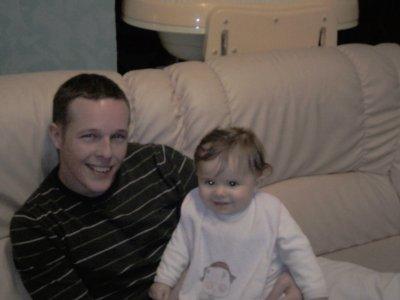 moi et la petite fille de ma soeur