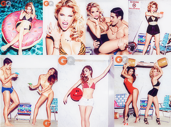 Photoshoot : GQ Juin 2014