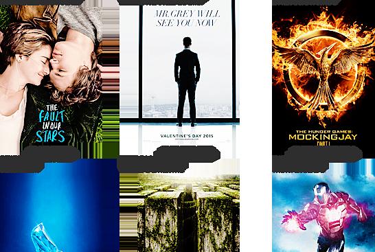 Les films que j'attends avec impatience.