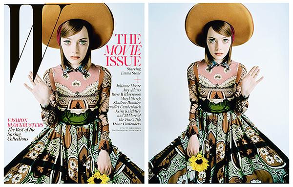 W Magazine - Janvier 2015