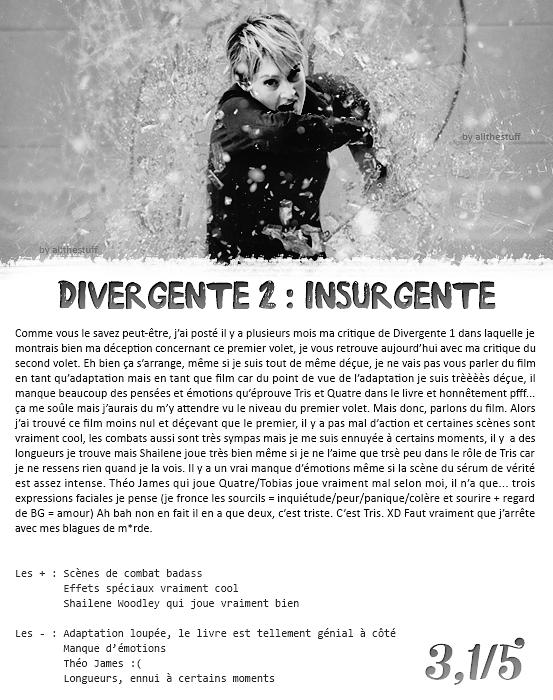 Divergente 2 : Insurgente