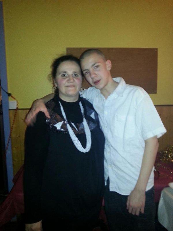 Moi avec mon Fils Quentin