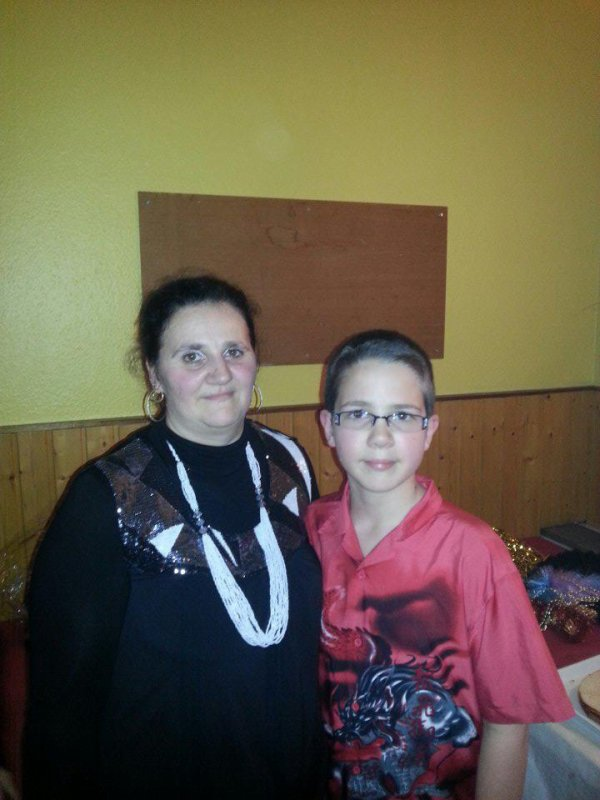 Moi avec mon Fils Justin