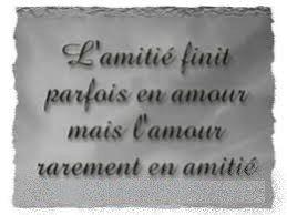 Amitié ou l'Amour
