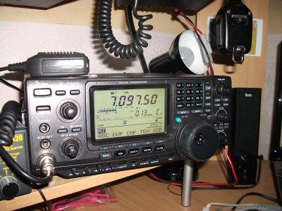mon nouveaux decametrique icom 7400