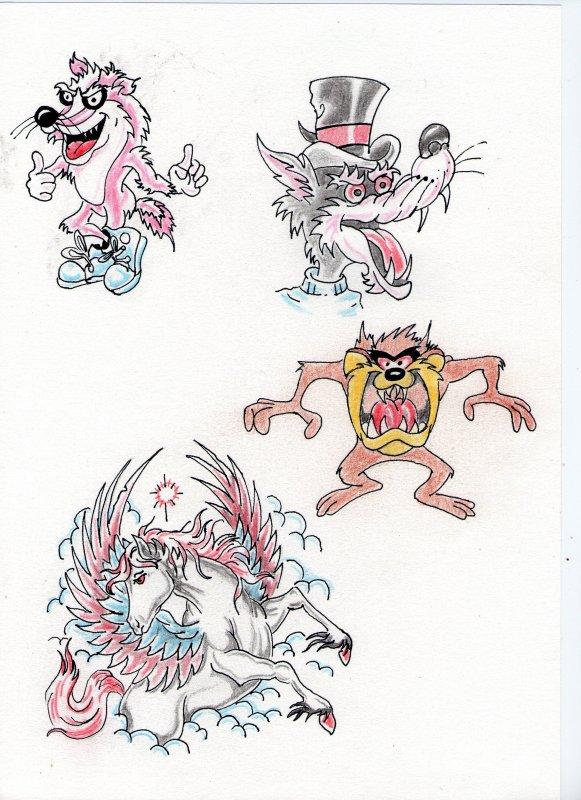 dessin de tatoo
