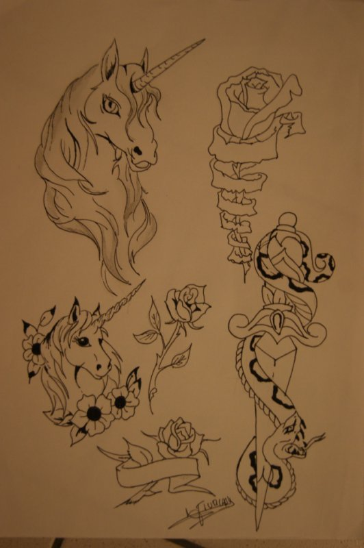 DESSIN TATTOO