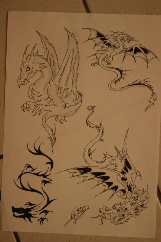 Voici tout mes dessin tattoo réaliser par moi