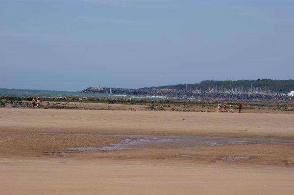 Septembre 2012 - Le Port Bourgenay vu de la plage du Veillon