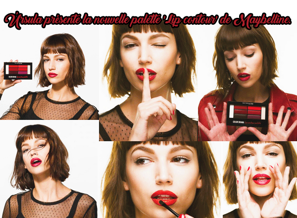 """ursu pour la palette """"lip contour"""" de maybelline"""