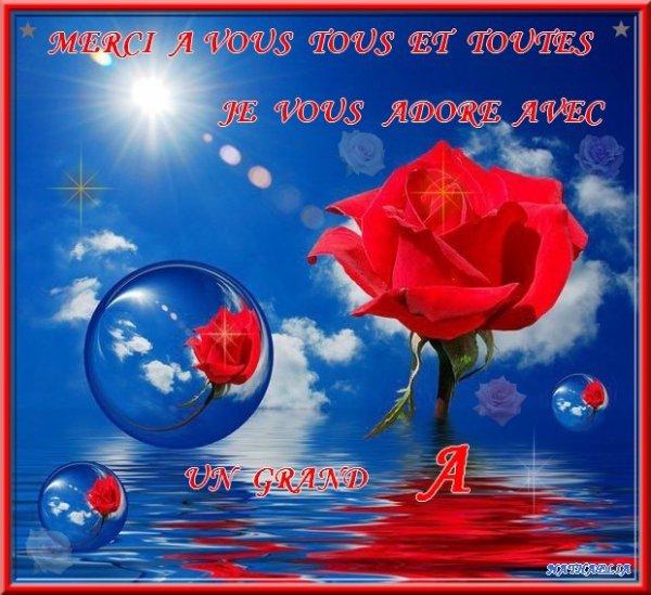 ♣ partage de l'amitie merci a vous tous ♣