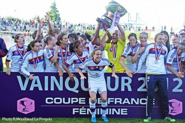 Les Lyonnaise son champion france
