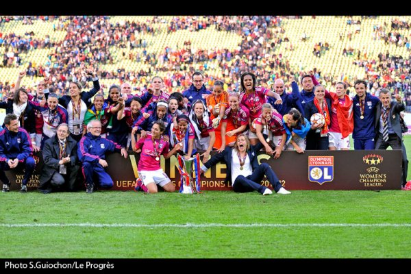 Les Lyonnaise son champion europe