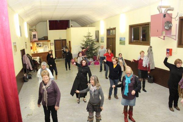 07 janvier 2015 : le cours et la galette des Rois à Bérelles