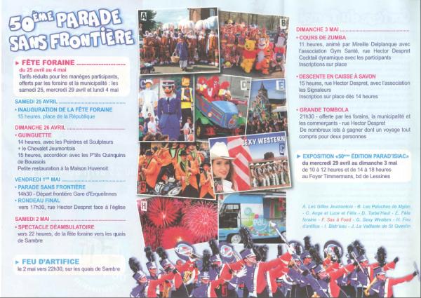 Parade du 1er mai 2015 : 50ème édition