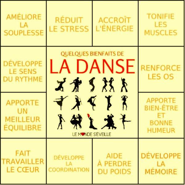 Les bienfaits de la danse