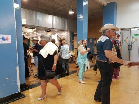 """Repas et bal CD de fin d'année de """"Route 66"""" à Jeumont 24 juin 2017 : photos.1"""