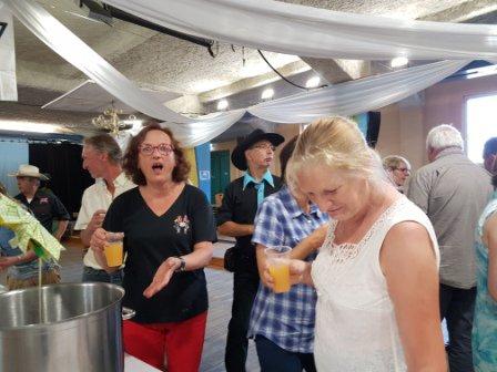 """Repas et bal CD de fin d'année de """"Route 66"""" à Jeumont 24 juin 2017 : photos.4"""