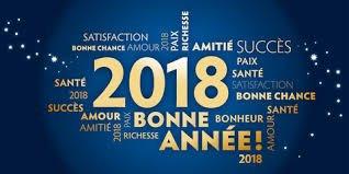 Bonne Année 2018 à tous