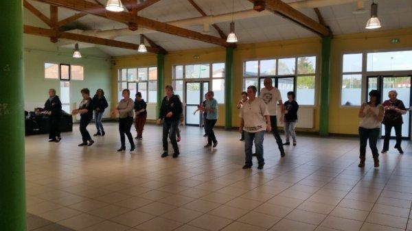 1er mai 2018 : Parade sans frontière Jeumont-Erquelinnes : répétitions