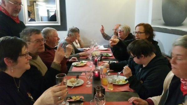 1er mai 2018 : Parade sans frontière Jeumont-Erquelinnes : au soir