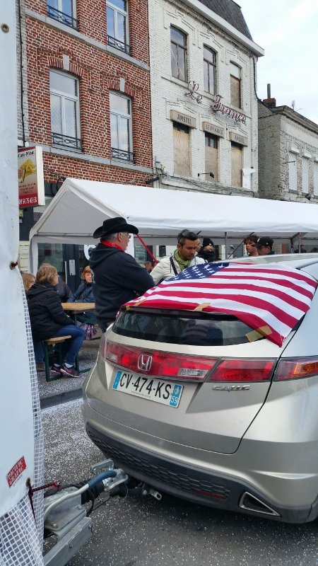 1er mai 2018 : Parade sans frontière Jeumont-Erquelinnes : Photos.1