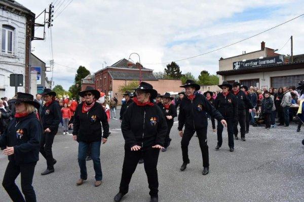 1er mai 2018 : Parade sans frontière Jeumont-Erquelinnes : Photos.2
