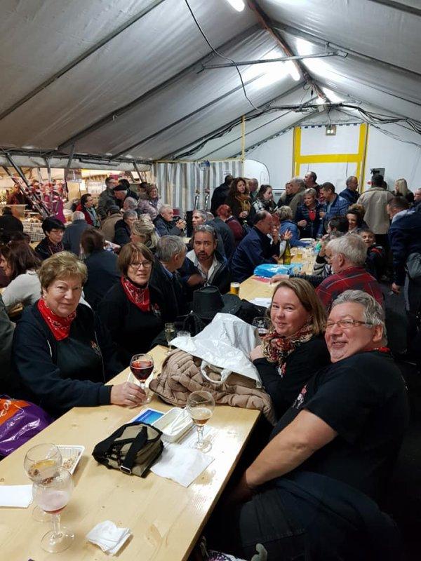 10 novembre 2018 : Démo à la Foire aux huitres. photos