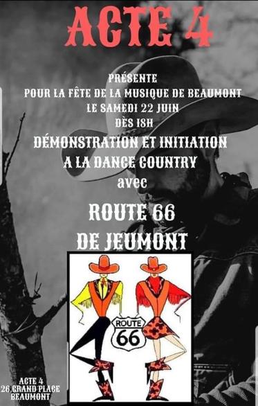22 juin 2019 : Fête de la musique à Beaumont (Belqique)
