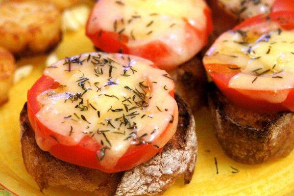 Minibruschettas à la Tomate