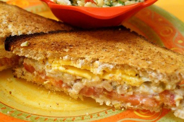"""Sandwich fondant au """"Thon"""" Végétal"""