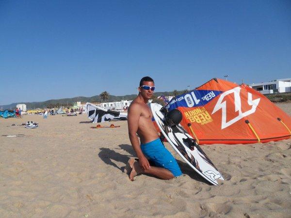 tayeb with kitsurf 2013