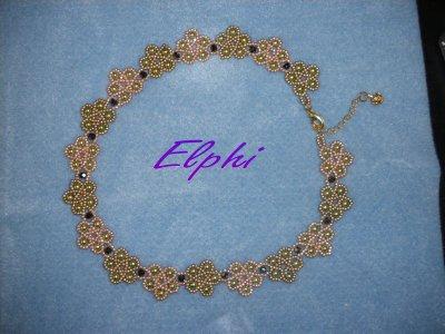 Raspberry ice Necklace