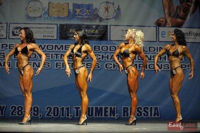 CHAMPIONNATS EUROPE IFBB, Tuymen Russie