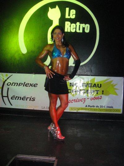 Démo à la discothèque LE RETRO, à Tulle, 10 déc. 2011