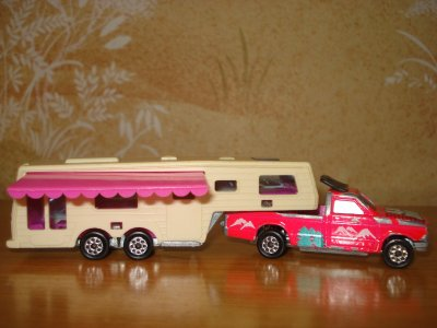 Majorette camping-car deluxe
